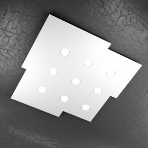 Picture of TOP LIGHT PLATE CEILING LAMP LED WHITE 9 LIGHTS