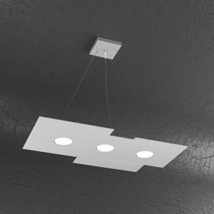 Picture of TOP LIGHT PLATE LAMPADARIO LED GRIGIO DESIGN MODERNO DA SOGGIORNO