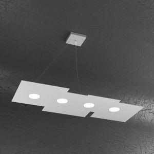 Picture of TOPLIGHT PLATE LAMPADARIO PER CUCINA MODERNO GX53 LED GRIGIO DESIGN SQUADRATO