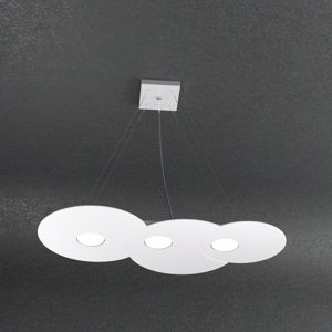 Picture of LAMPADARIO CUCINA BIANCO 3 LUCI LED INTERCAMBIABILI TOPLIGHT CLOUD