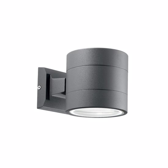 Picture of IDEAL LUX SNIF OUTDOOR WALL LAMP AP1 BIG ANTHRACITE
