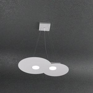 Picture of TOPLIGHT GREY CLOUD 2 LED PENDANT LIGHT MODERN DESIGN