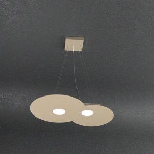 Picture of MODERN SAND CLOUD LED PENDANT 2 LIGHTS TOPLIGHT