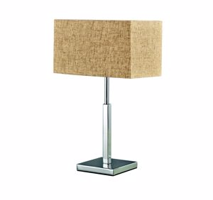 Picture of IDEAL LUX KRONPLATZ TL1 TABLE LAMP RUSTIC PROVECAL STYLE WITH SHADE