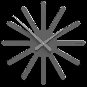 Picture of CALLEA DESIGN ASTERIX WALL CLOCK Ø45 MODERN QUARTZ GREY DESIGN