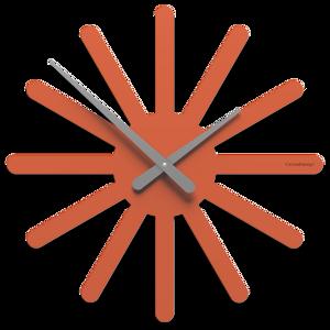 Picture of CALLEA DESIGN ASTERIX ORANGE WALL CLOCK Ø45 MODERN DESIGN