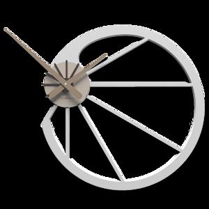 Picture of CALLEA DESIGN SNAIL 45 OROLOGIO DA PARETE BIANCO DESIGN ORIGINALE