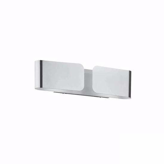 Picture of IDEAL LUX CLIP AP2 MINI WALL LAMP IN CHROME FINISHED METAL