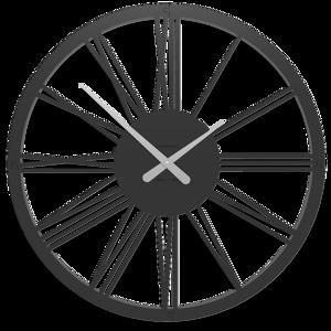 Picture of CALLEA DESIGN POMPEI OROLOGIO DA PARETE NUMERI ROMANI 60 NERO