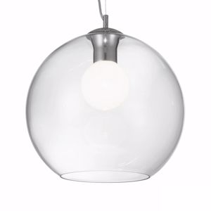 Picture of IDEAL LUX NEMO TRASPARENT SPHERE SUSPENSION SP1 D40