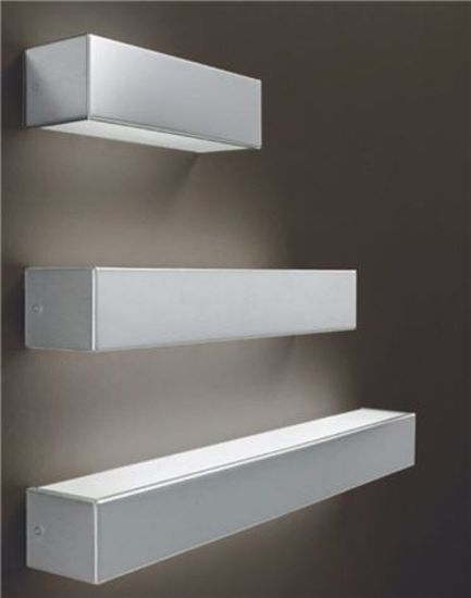 Picture of LINEA LIGHT BOX WALL LAMP 61CM 80W NICKEL