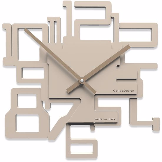 Picture of CALLEA DESIGNMODERN WALL CLOCK KRON SAND