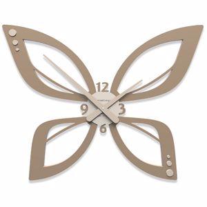 Picture of CALLEA DESIGN MODERN WALL CLOCK FARFY CAFFELATTE