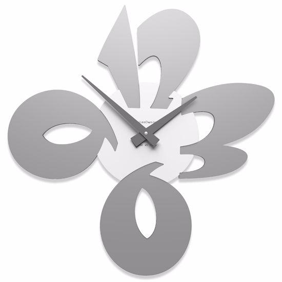Picture of CALLEA DESIGN MODERN WALL CLOCK CICCIO ALUMINIUM