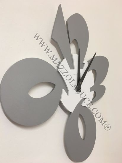 Picture of CALLEA DESIGN MODERN WALL CLOCK CICCIO ALUMINIUM