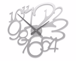 Picture of CALLEA DESIGN FRIVOLOUS MODERN WALL CLOCK ALUMINIUM