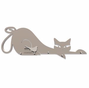 Picture of CALLEA DESIGN KEYHOLDER CAT DOVE GREY