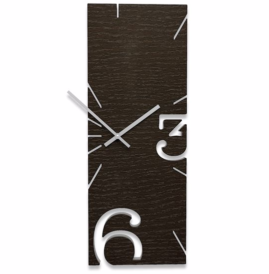 Picture of CALLEA DESIGN GREG WENGE OAK WALL CLOCK