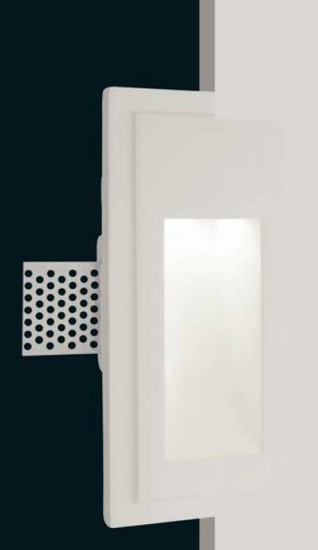Picture of ISYLUCE FOOTPATH RECESSED LIGHT IN GYPSUM