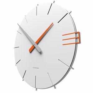 Picture of CALLEA DESIGN MIKE WALL CLOCK ORIGINAL DESIGN WHITE COLOUR