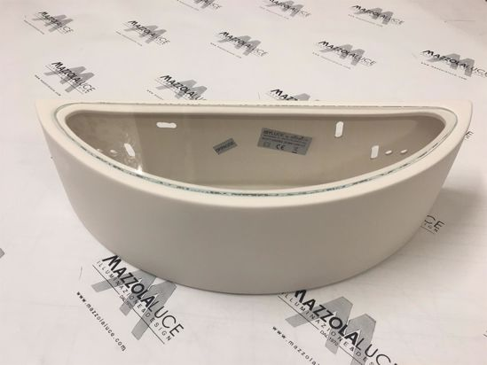 Picture of ISYLUCE CURVED PLASTER WALL LIGHT 36,5CM