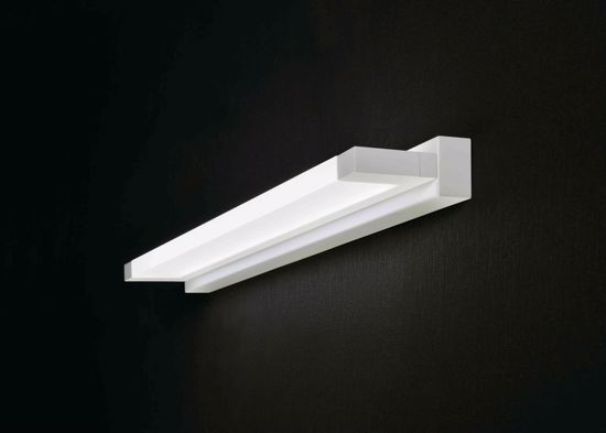 Picture of LED WALL LAMP SHELF 18W 65CM 3000K MODERN DESIGN FOR BATHROOM MIRROR