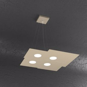 TOP LIGHT PLATE LED PENDANT WHITE 6 LIGHTS - 1129S6RSL