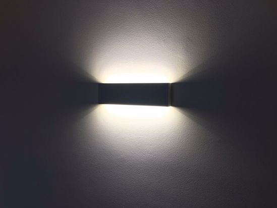 Picture of LED WALL LIGHT 18W ULTRA SLIM IN METAL 32CM
