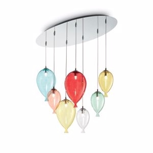 Picture of IDEALLUX CLOWN SP7 MULTICOLOR SUSPENSION BALLOON
