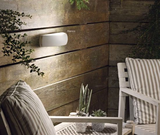 Picture of IDEAL LUX GIOVE OUTDOOR WALL LAMP IP54 ANTHRACITE