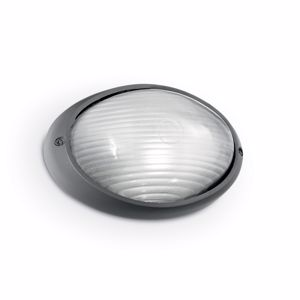Picture of IDEAL LUX MIKE 50 OUTDOOR LAMP AP1 BIG ANTHRACITE