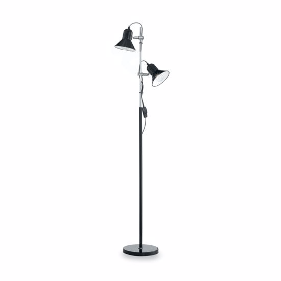 Picture of IDEAL LUX POLLY FLOOR LAMP PT2 BLACK