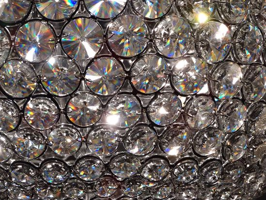 Picture of ILLUMINATI WALL LAMP WITH CRYSTALS 28CM 3 LIGHTS