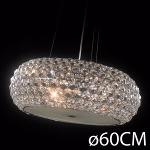Picture of ILLUMINATI SUSPENSION CRYSTAL STAR 65CM 9 LIGHTS
