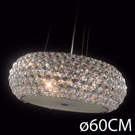 Picture of ILLUMINATI SUSPENSION CRYSTAL STAR 65CM 9 LIGHTS