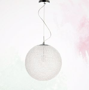 Picture of ILLUMINATI BALL MODERN SPHERE SUSPENSION 30CM TRANSPARENT WHITE