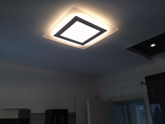 Picture of BIG AURORA CEILING LED LIGHT Ø63 HIGH LIGHTING POWER 60W 3000K
