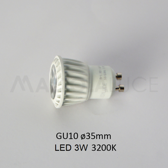 Picture of ISYLUCE BULB LED GU10 35MM FOR FOOTPATH 822 AND 823