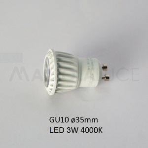 Picture of ISYLUCE BULB LED 4.5 W GU10 35MM 4000K 280 LUMEN