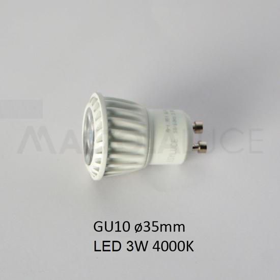 Picture of ISYLUCE BULB LED 4.5 W GU10 35MM 4000K 280 LUMEN
