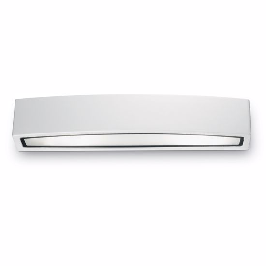 Picture of IDEAL LUX ANDROMEDA OUTDOOR WALL LAMP WHITE 2 LIGHTS 45CM