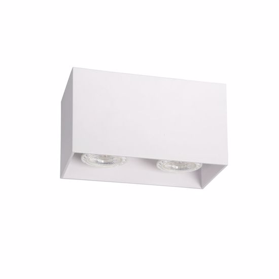 Picture of CEILING CUBE SPOTLIGHT 2 LIGHTS WHITE METAL