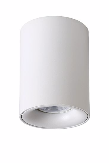 Picture of WHITE ALUMINIUM CYLINDER CEILING LIGHT MODERN STYLE