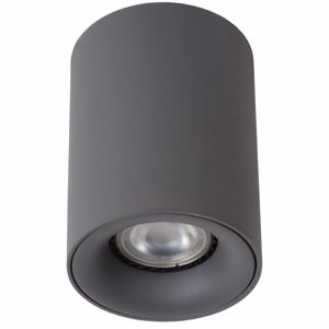 Picture of GRAPHITE ALUMINIUM CYLINDER CEILING LIGHT MODERN STYLE