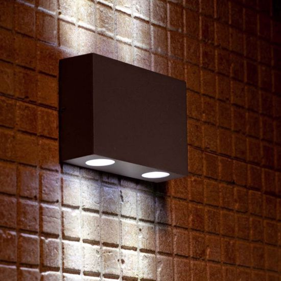 Picture of FARO MARAT-2 OUTDOOR WALL LAMP LED 4W 3000K DRIV INCL