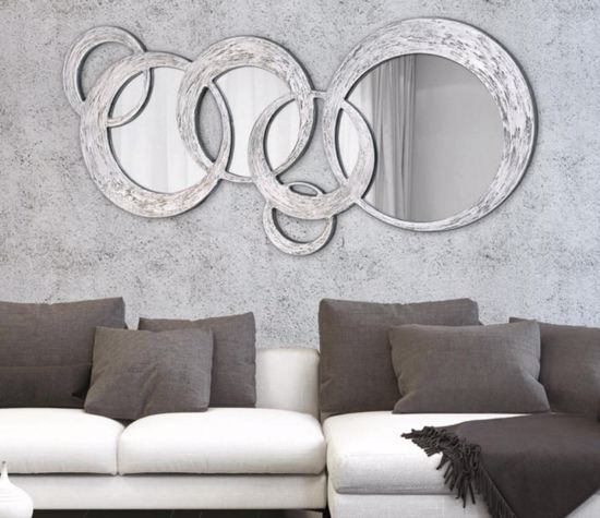 Picture of PINTDECOR CIRCLES BIG WALL MIRROR CONTEMPORARY DESIGN