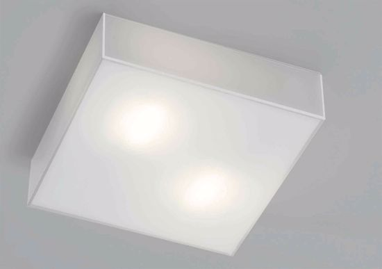 Picture of MODERN WHITE GLASS CEILING LAMP