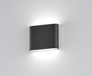 Picture of PICCOLO APPLIQUE DA ESTERNO LED 6W 3000K IP54 ANTRACITE DESIGN MODERNA