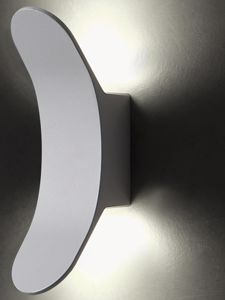 Picture of APPLIQUE DA ESTERNO IP55 GRIGIO DESIGN MODERNA LED 8W 4000K LUCE INDIRETTA