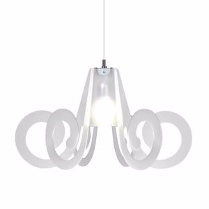 Picture of EMPORIUM RICCIOLO SUSPENSION SMALL OPALINE WHITE